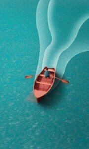 boat, sea, ocean