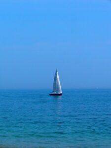boat, sea, sunny