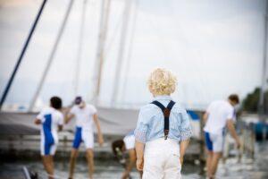 child, port, water sports