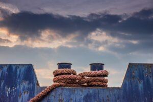 ropes, ship, barge