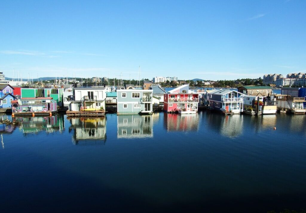 fishermans wharf, victoria, canada