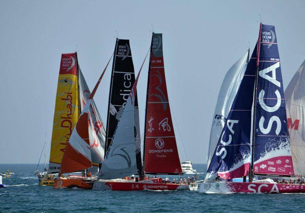 regatta, volvo ocean race, sailboat